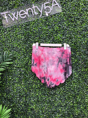 PULL ON TIE DYE SHORT