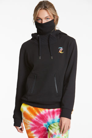 Juicy Couture - Embroidered Hoodie w/ Mask
