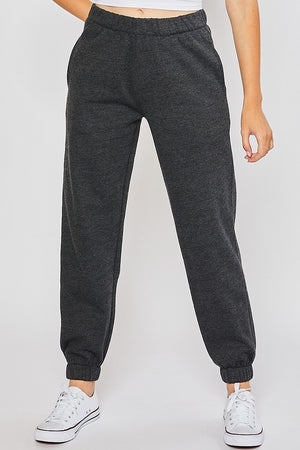 Fleece Brushed Joggers