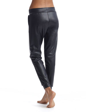 Commando - Faux Leather Jogger