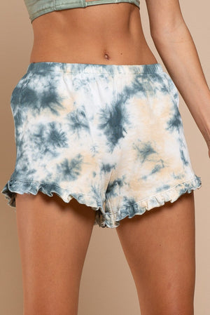 Tie Dye French Terry Shorts