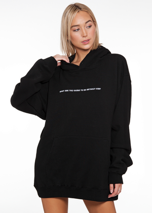 BOYS LIE - WHAT ARE YOU GOING.. L/S HOODED SWEATSHIRT