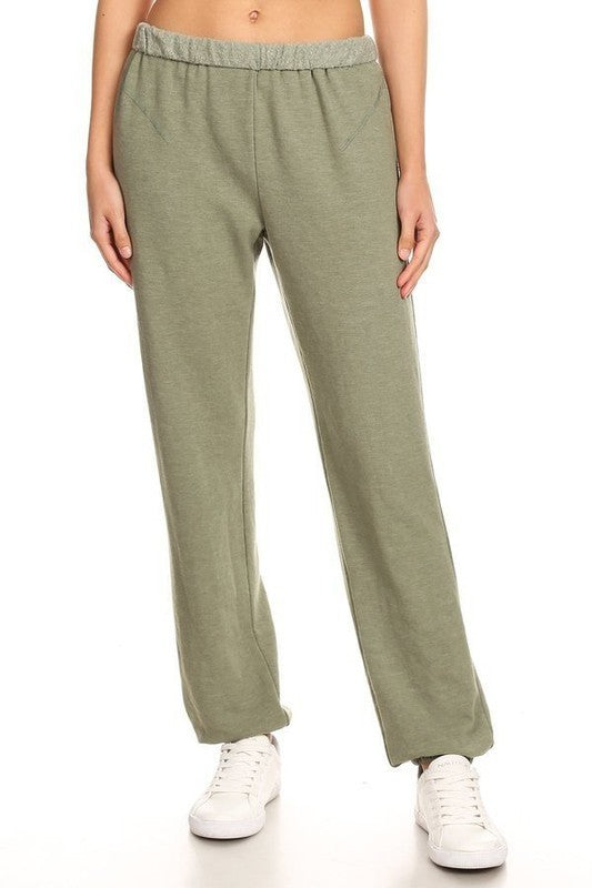 ROLLOVER FLEECE SWEATPANT