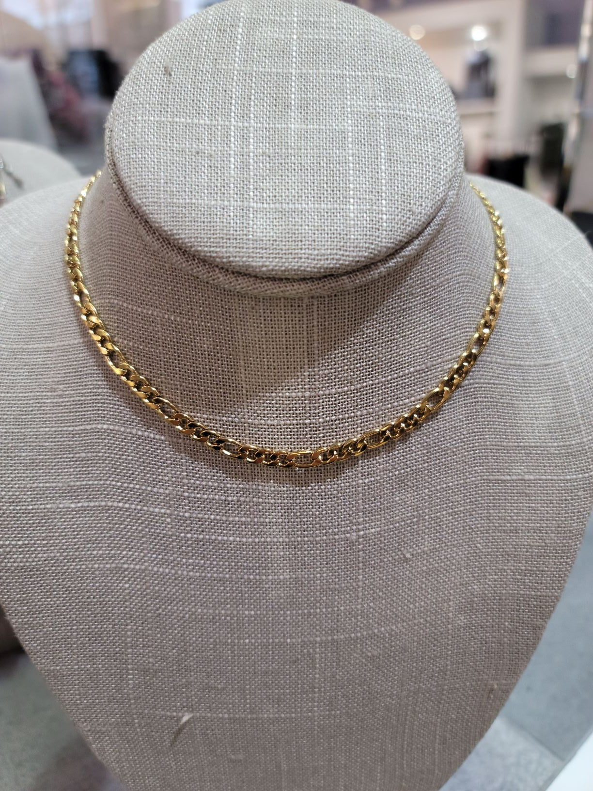 Aster Gold Chain Necklace