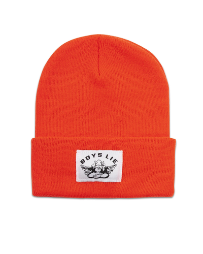 Boys Lie-Beanie Orange