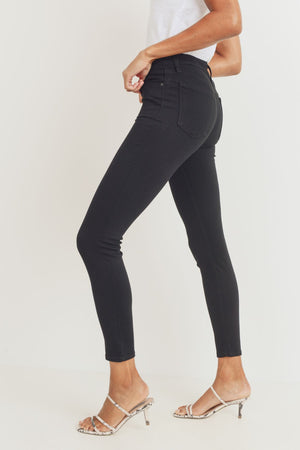 Just Black - High Rise Skinny Jeans