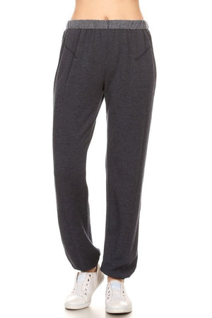 Twenty5A - Rollover Fleece Sweatpant