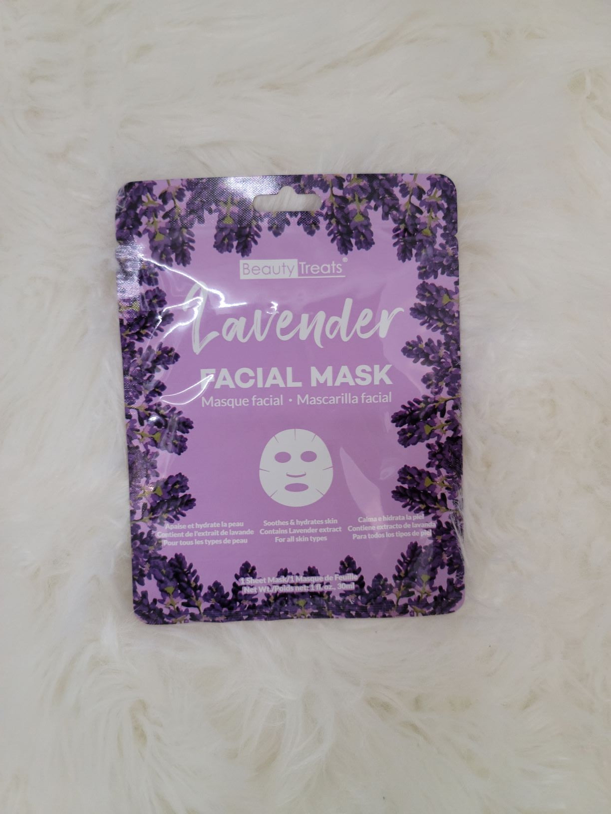 Lavender Sheet Mask
