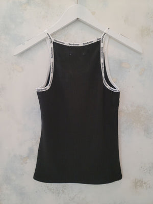 Juicy Couture - Ribbed Halter Tank Top