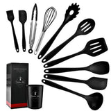 10/12 PCS Silicone Kitchen Utensils Cookware Set
