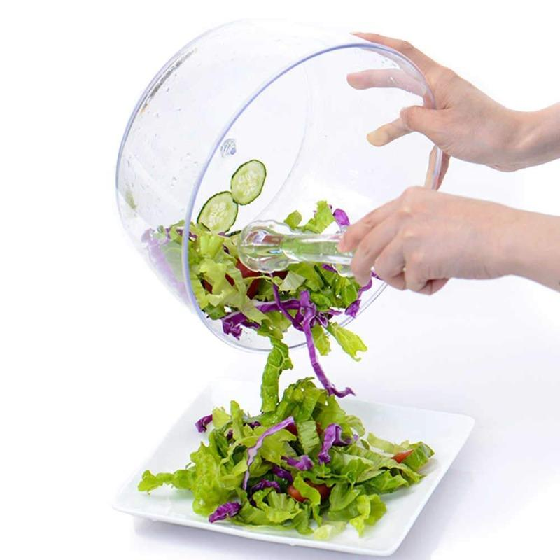 Manual Water Drain Salad Spinner