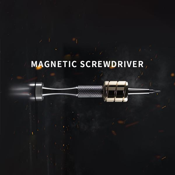 Magnetic rotary power multifunctional screwdriver