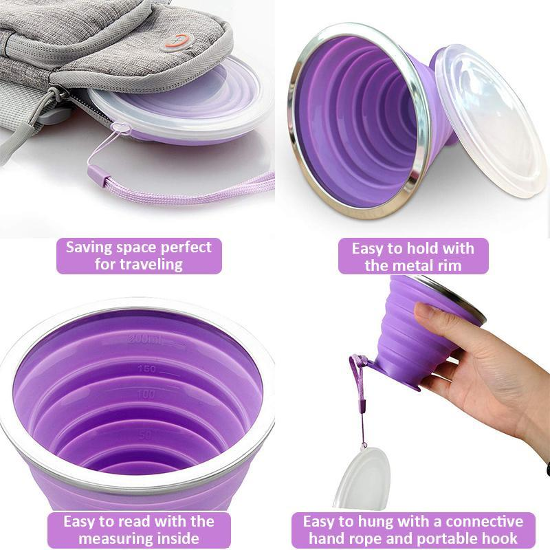 Silicone Collapsible Travel Cup