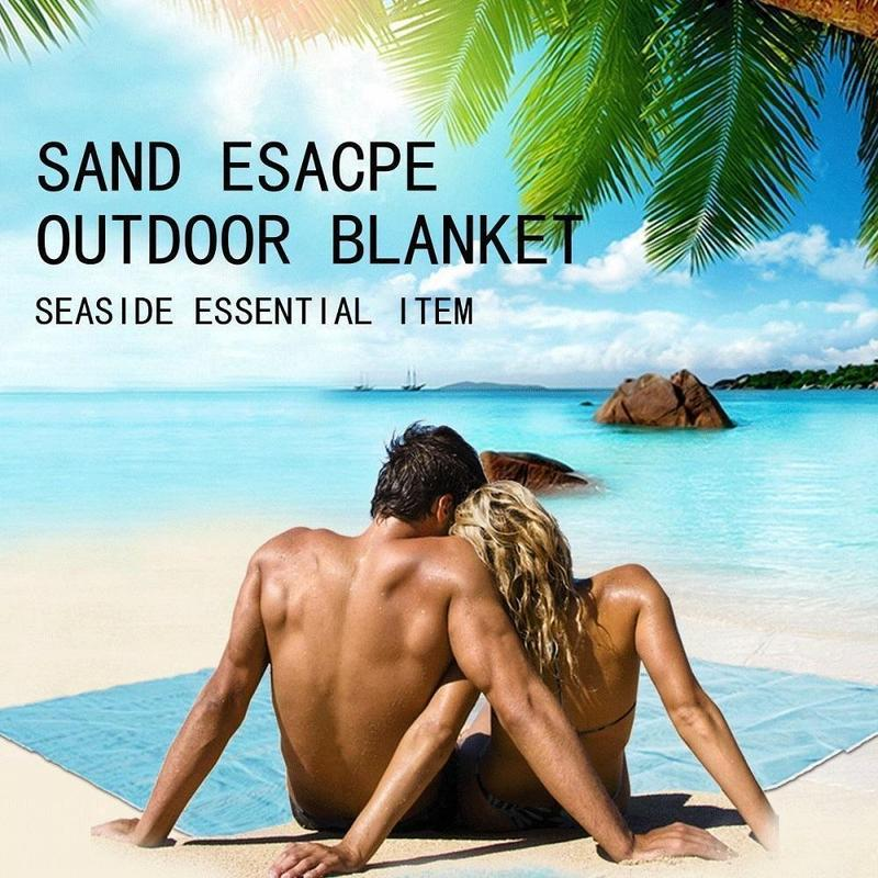 No sand beach blanket
