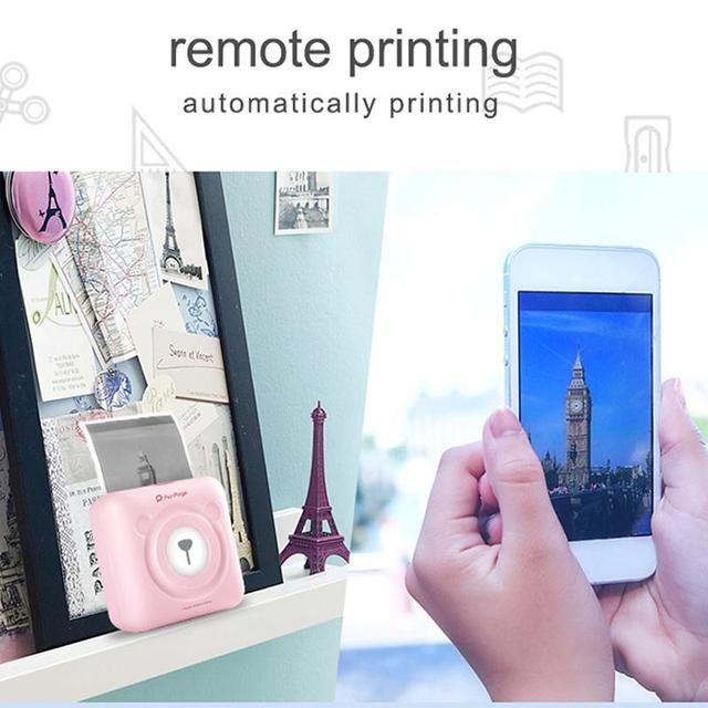 🔥2020 NEW Portable Smart Photo Printer