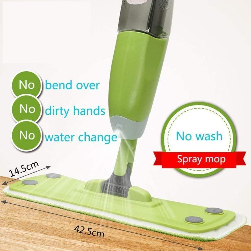 Microfiber Pads Spray Floor Mop
