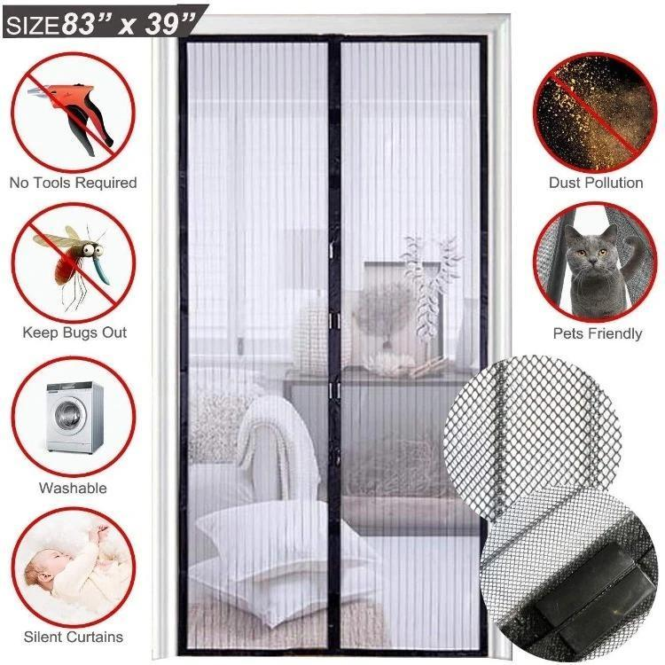 Magnetic Mesh Insect Screen Door【Flash Sale】