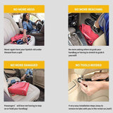Double Layer Storage Network of Car Seat