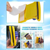 Magnetic double-sided window cleaning brush【Flash Sale】