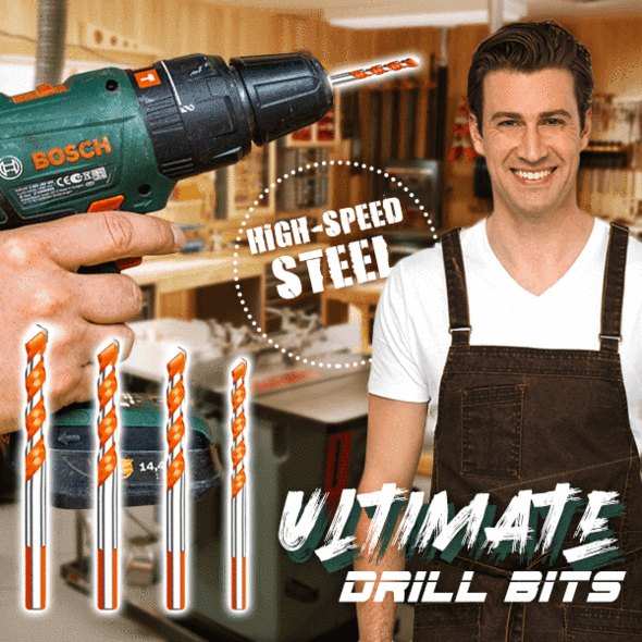 【Factory Outlet】Ultimate Drill Bits