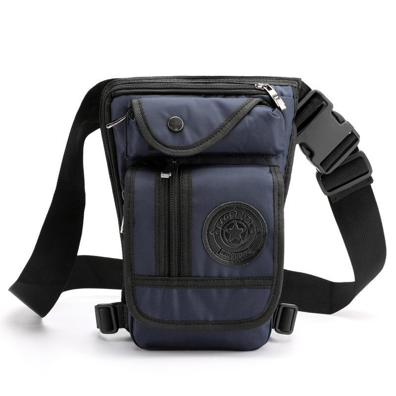 Versatile Tactical Waist Leg Bag Outdoor Durable Waterproof Convenient Nylon Canvas