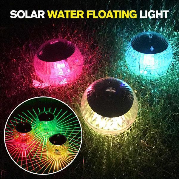 Solar Water Float Light Pond Floating Light Magic Ball Light Garden Decoration Light Pool Light - Party anytime