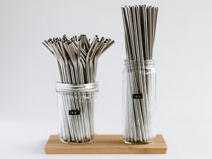 Stainless Steel Straw - 9""