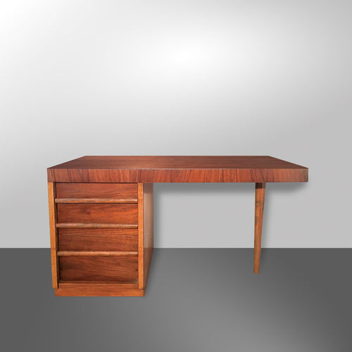 T.H. Robsjohn-Gibbings Walnut Desk