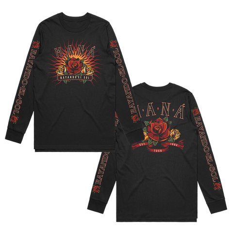 Flower Burst Long Sleeve