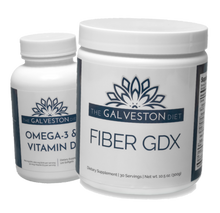 Load image into Gallery viewer, Fiber GDX and Omega 3 + Vitamin D Combo Pack