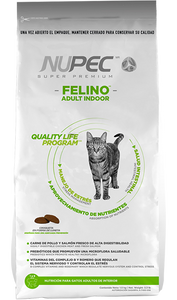 NUPEC - Gato Adulto - Indoor - Sabor Pollo