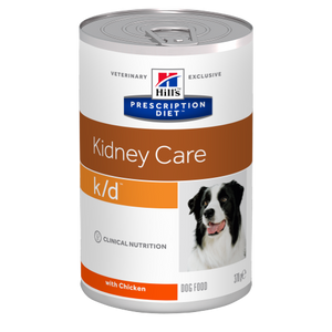 HILL'S PRESCRIPTION DIET CANINO k/d (lata)