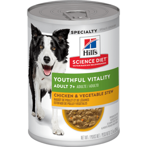 HILL'S SCIENCE DIET CANINO Senior Vitality 7+ (lata estofado)