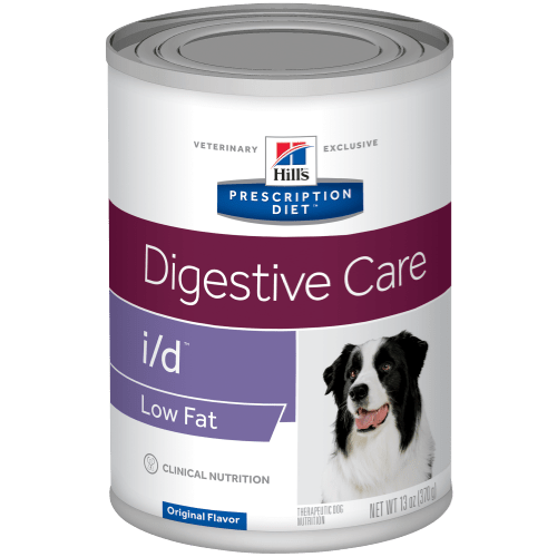 HILL'S PRESCRIPTION DIET CANINO i/d low fat (lata)