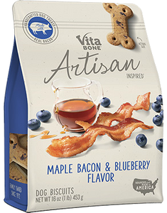 Vita Bone Artisan - Maple Bacon & Blueberry Flavor