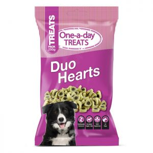 One a Day Treats - Duo Hearts