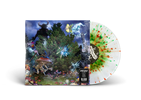 1000 GECS AND THE TREE OF CLUES VINYL (RED & GREEN SPLATTER)