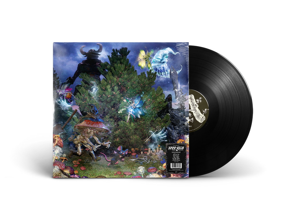 COVER ART TEE & 1000 GECS AND THE TREE OF CLUES VINYL (BLACK)