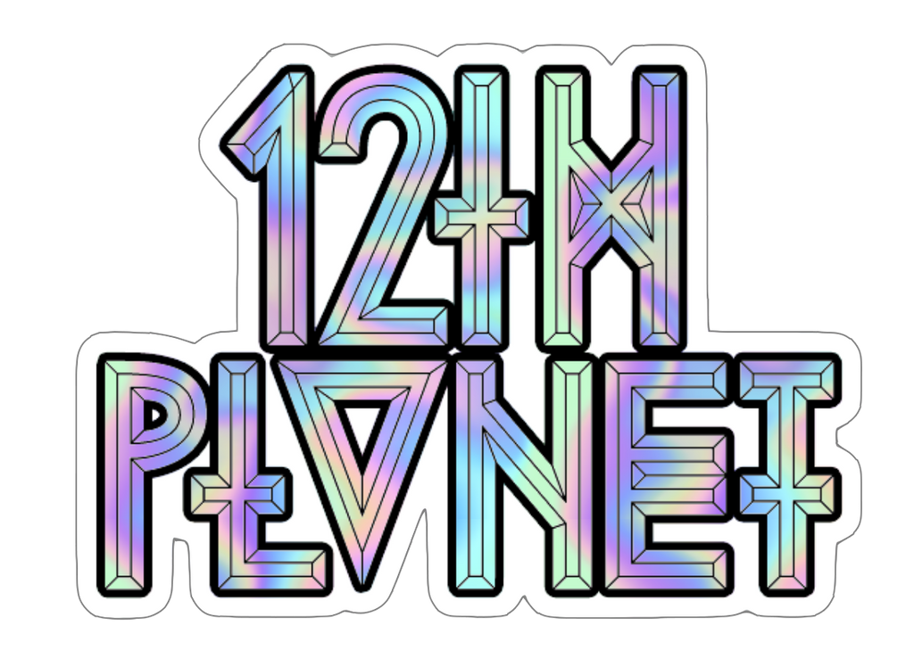 12th Planet Logo Sticker - Holo