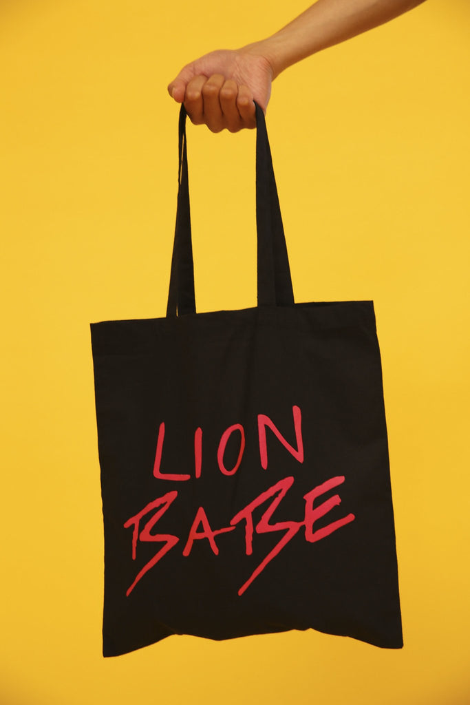 LION BABE TOTE