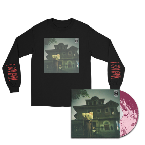 "BEST HOUSE ON A BAD BLOCK Vinyl + ""BHOABB"" Longsleeve Bundle"