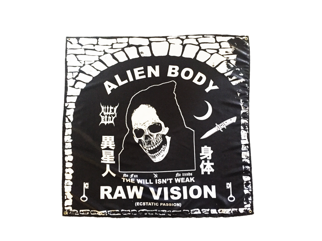 THE RAW VISION FLAG