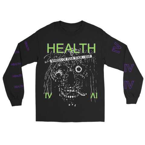 ebbd175992 Wheels of Fear Tour x Alien Body Longsleeve