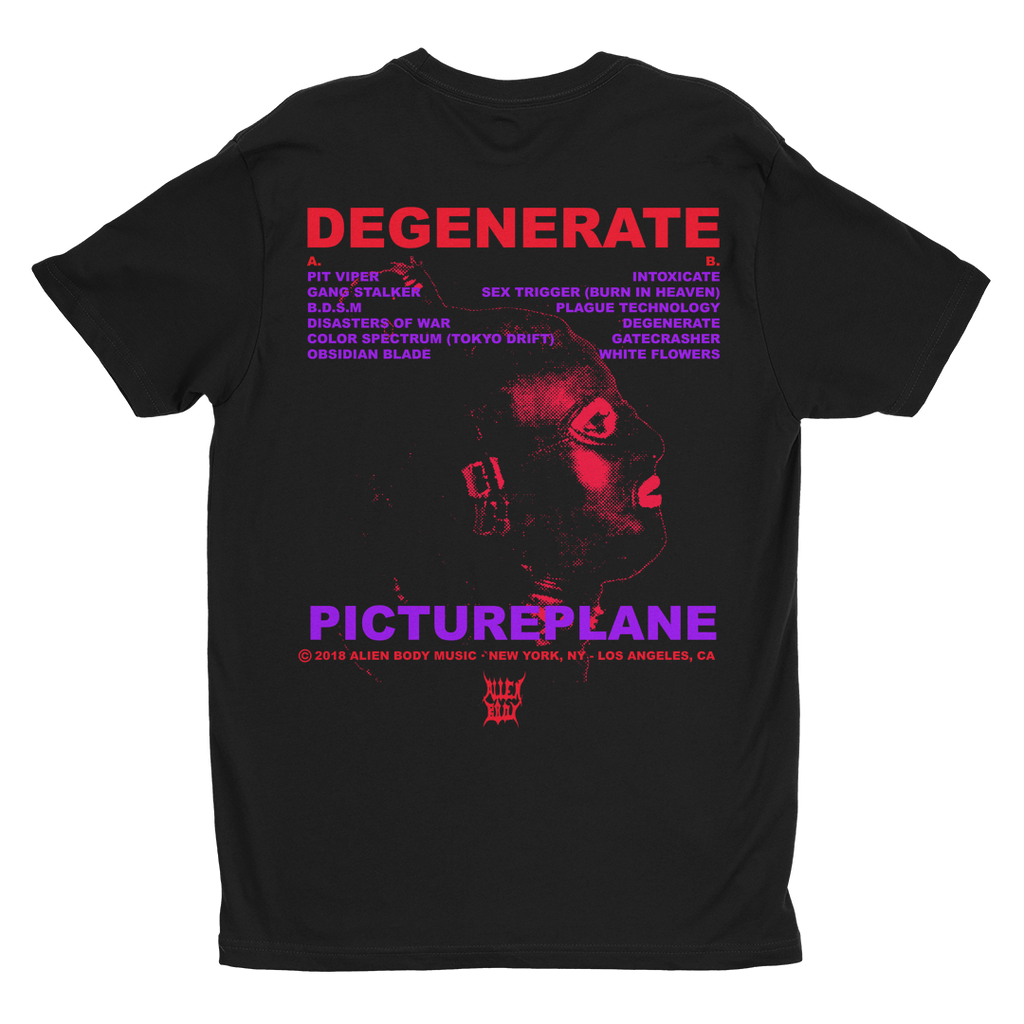 Degenerate Vinyl Bundle - Vinyl, Shirt and Poster