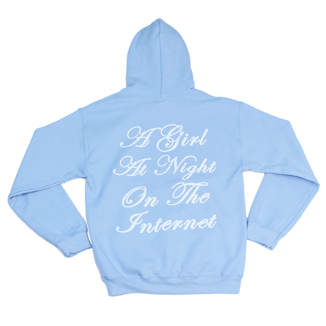 A Girl at Night Hoodie