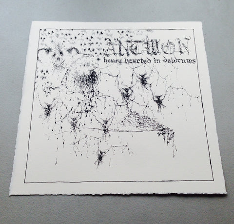 "Antwon - Limited Edition ""Heavy Hearted In Doldrums"" Art Print"