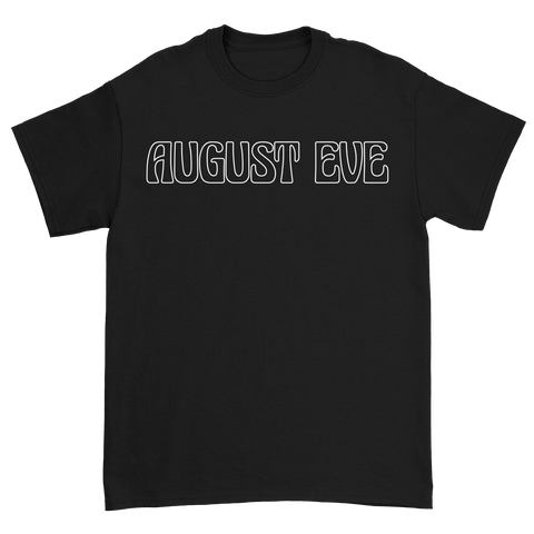 August Eve Black Logo T-Shirt