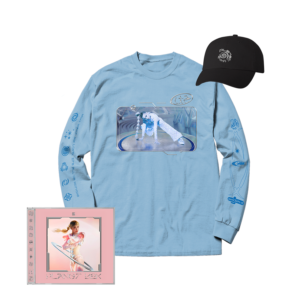 PLANET Y2K CD, HAT + LONGSLEEVE BUNDLE