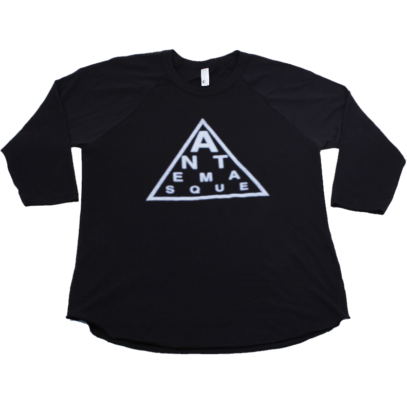 ANTEMASQUE BASEBALL TEE - TRIANGLE LOGO