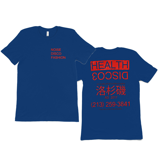 DISCO3 ROYAL BLUE T-SHIRT